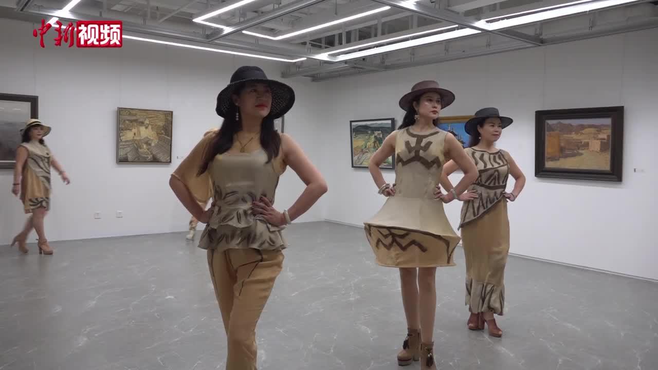 兰州一高校老师设计出马家窑元素服饰